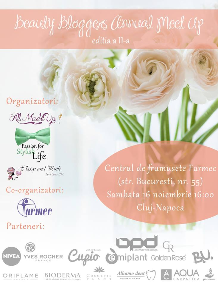 Beauty Bloggers Cluj Meeting 2   Blog Cosmetic Plant