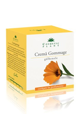 Cosmetic Plant   Cremã gommage cu extract de gãlbenele (50 ml)